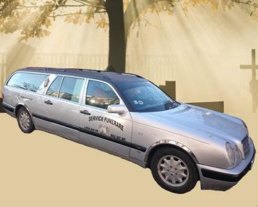 Masina Mercedes transport funerar